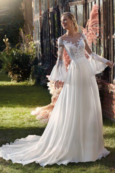 Elizabeth Bridal Nicole Milano Collection Colet 12125 01