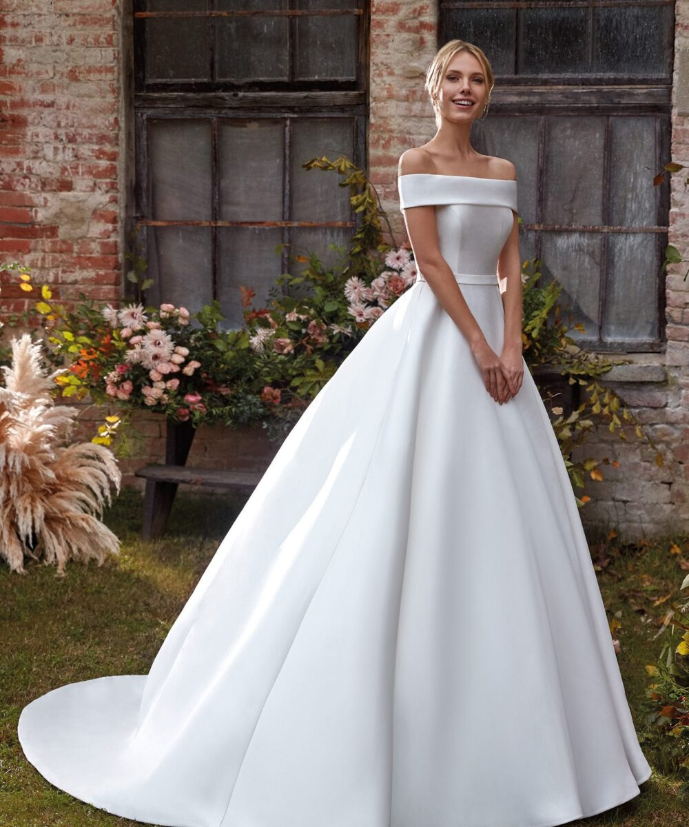 Elizabeth Bridal Nicole Milano Collection Colet 12141 01