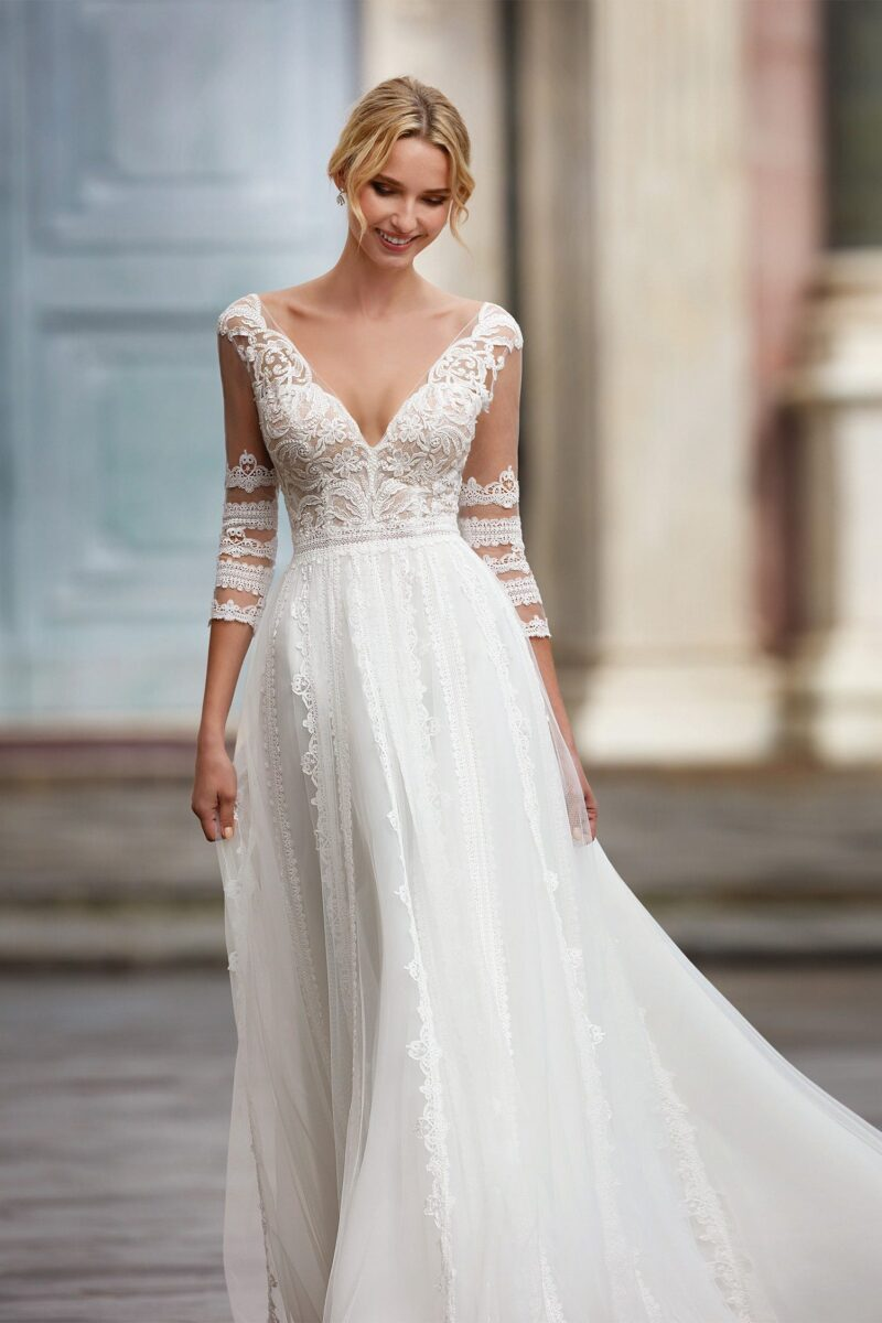 Elizabeth Bridal Nicole Milano Collection Nicole 12126 03