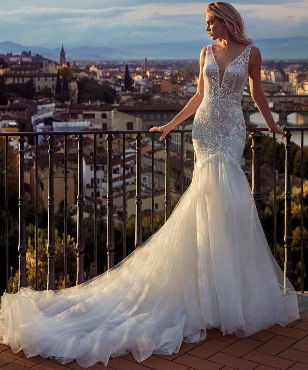 Elizabeth Bridal Nicole Milano Collection Nicole 12130 01