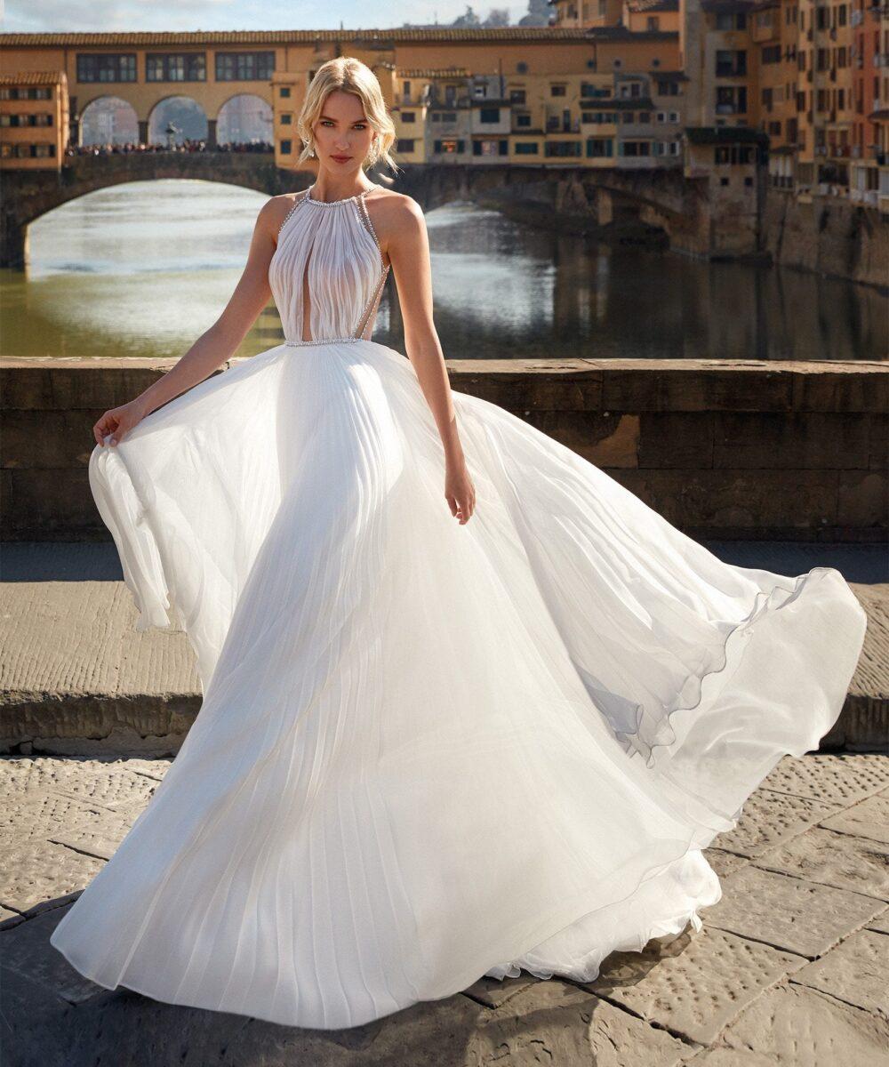 Elizabeth Bridal Nicole Milano Collection Nicole 12133 01