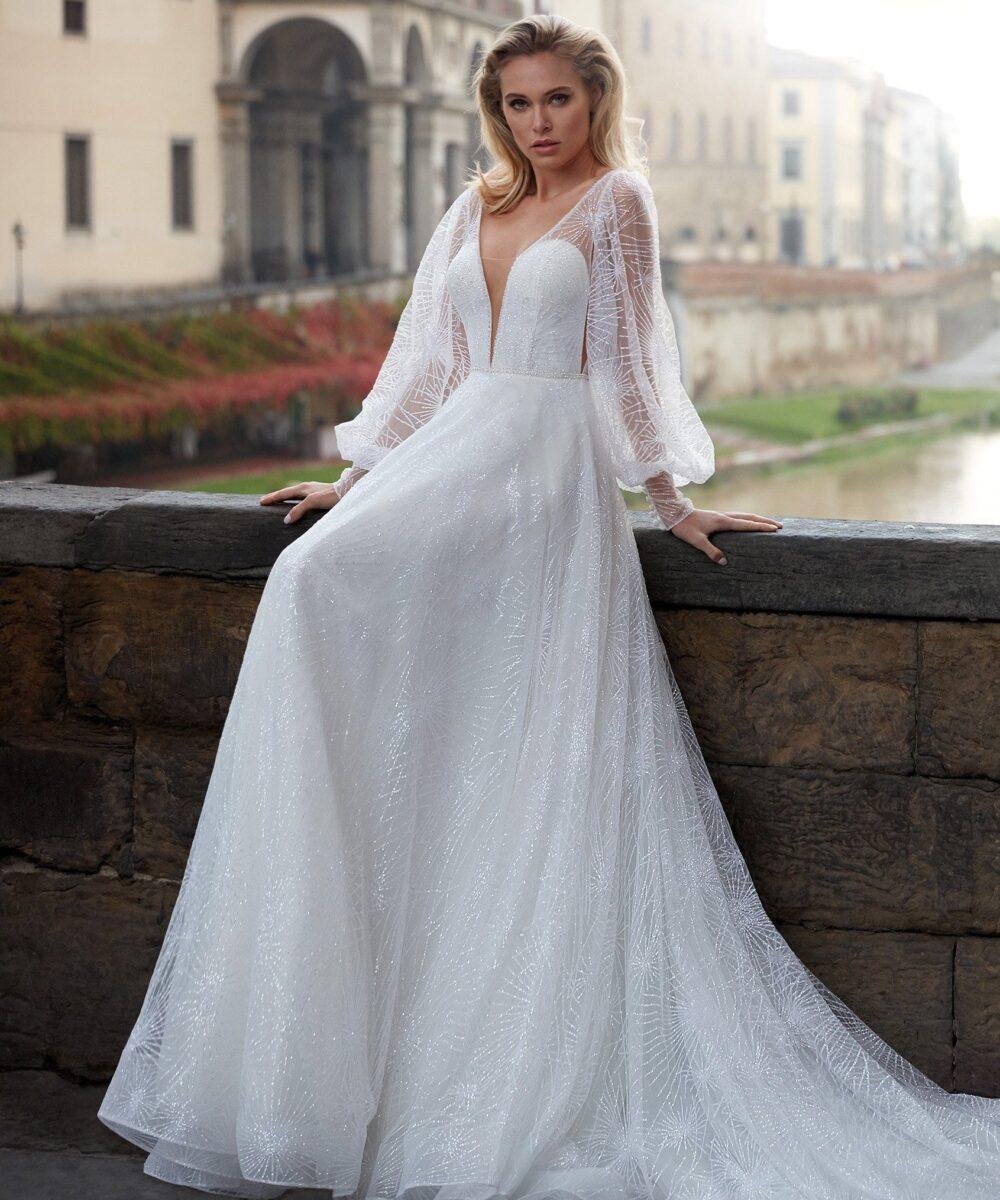 Elizabeth Bridal Nicole Milano Collection Nicole 12152 01