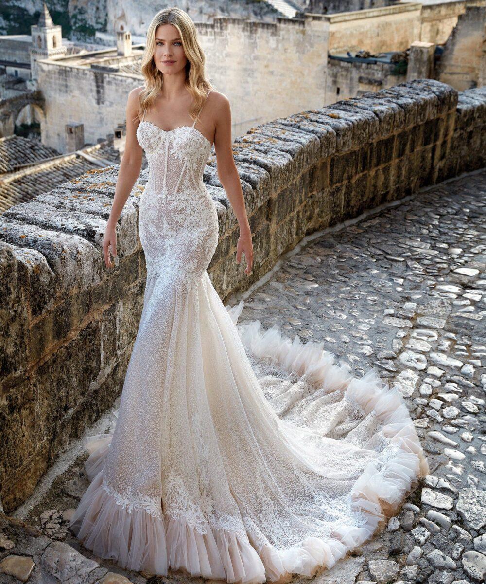 Elizabeth Bridal Nicole Milano Collection Romance 12141 01
