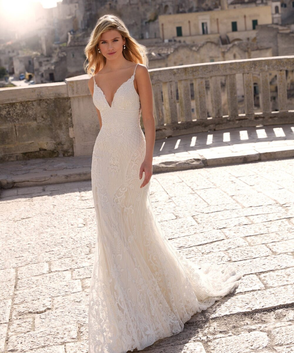 Elizabeth Bridal Nicole Milano Collection Romance 12145 01